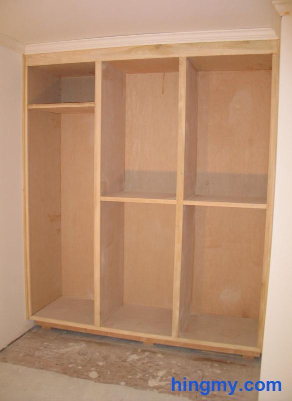 Built In Closet Face Frame Construction