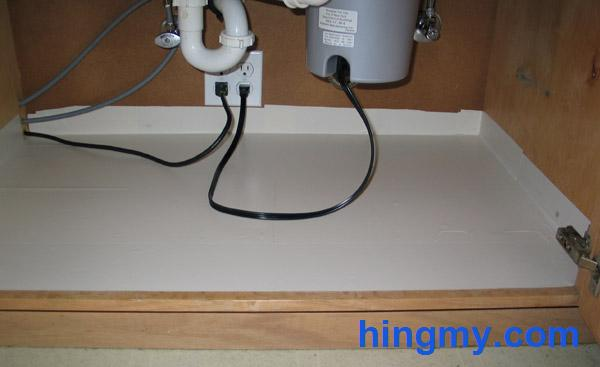 Water Proofing The Under Sink Cabinet In Your Kitchen
