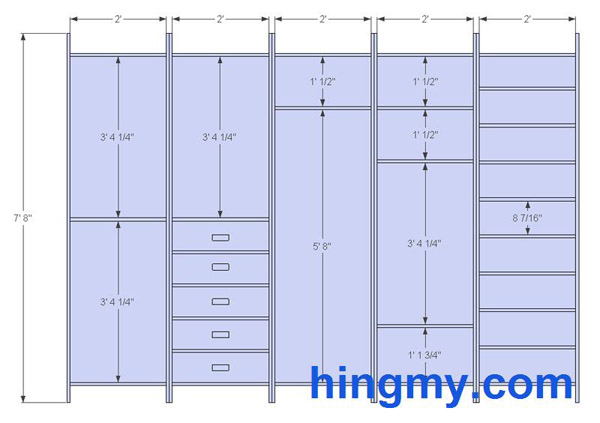 Designing A Built in Closet