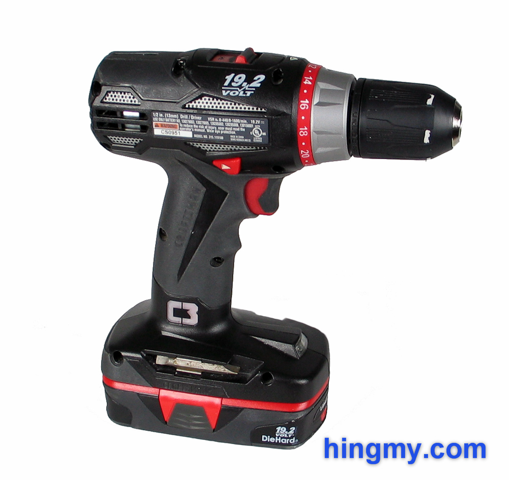 Craftsman 17310 drill driver review for Who makes power craft tools