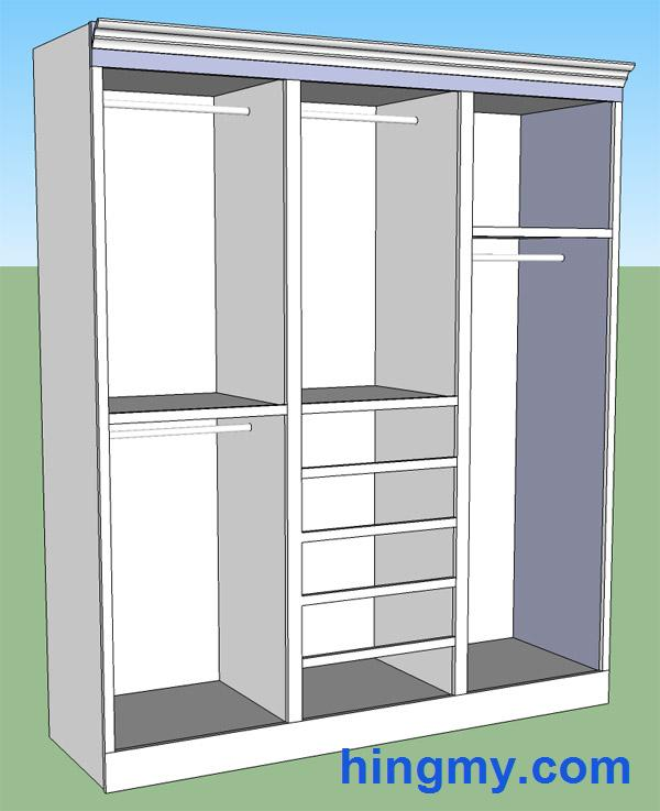 Building a built in closet for How to build a walk in closet step by step
