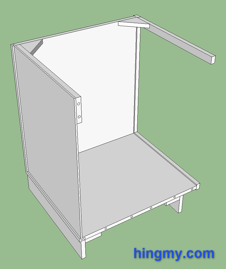 How to build a face frame cabinet for Building face frame kitchen cabinets