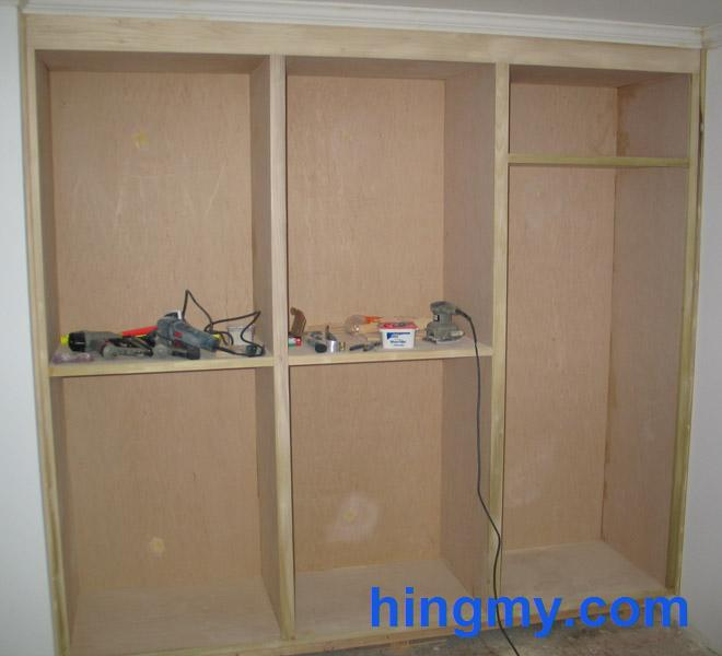 Built In Closet Face Frame Construction