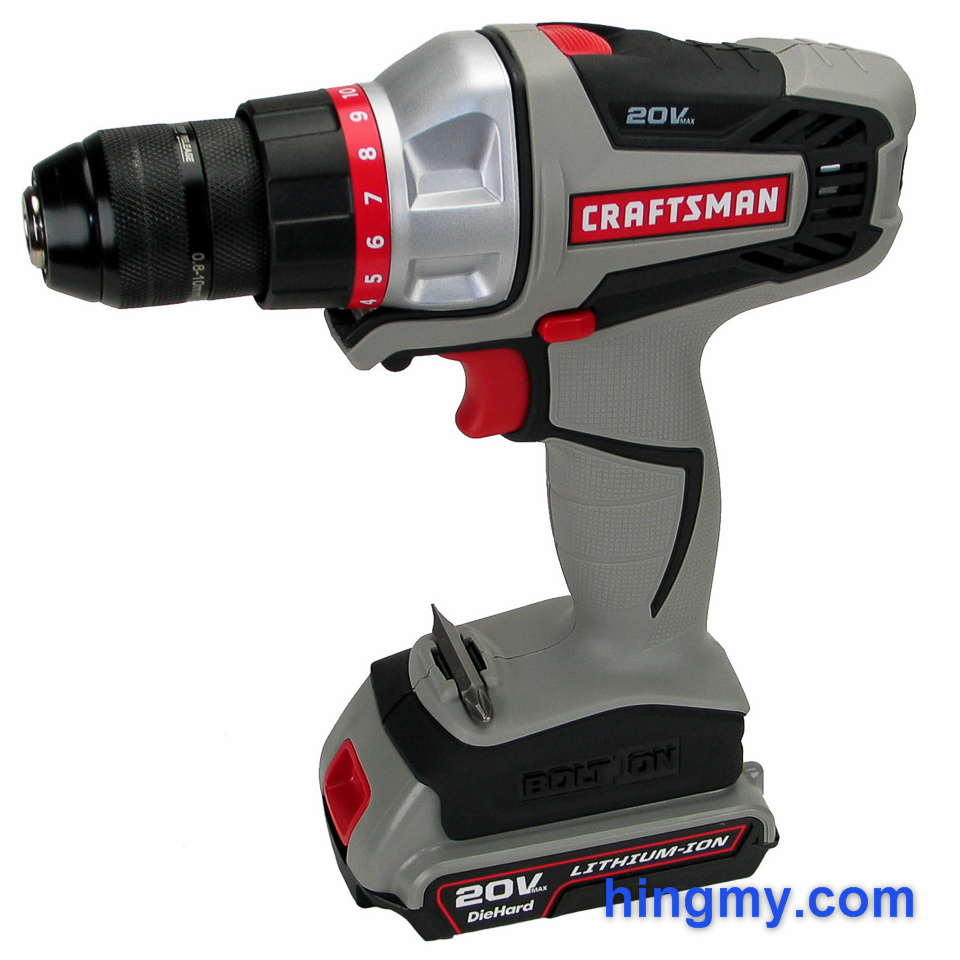 Craftsman bolton cordless drill review for Who makes power craft tools